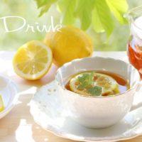 果実レモンドリンクは疲れた体に優しい!ジュースのアレンジは無限大